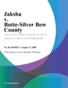 Jaksha V Butte-Silver Bow County