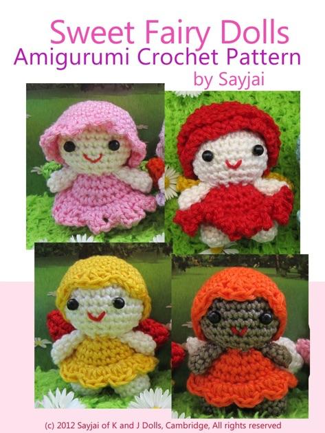 Crochet Pattern Maker Mac : Sweet Fairy Dolls Amigurumi Crochet Pattern by Sayjai on ...