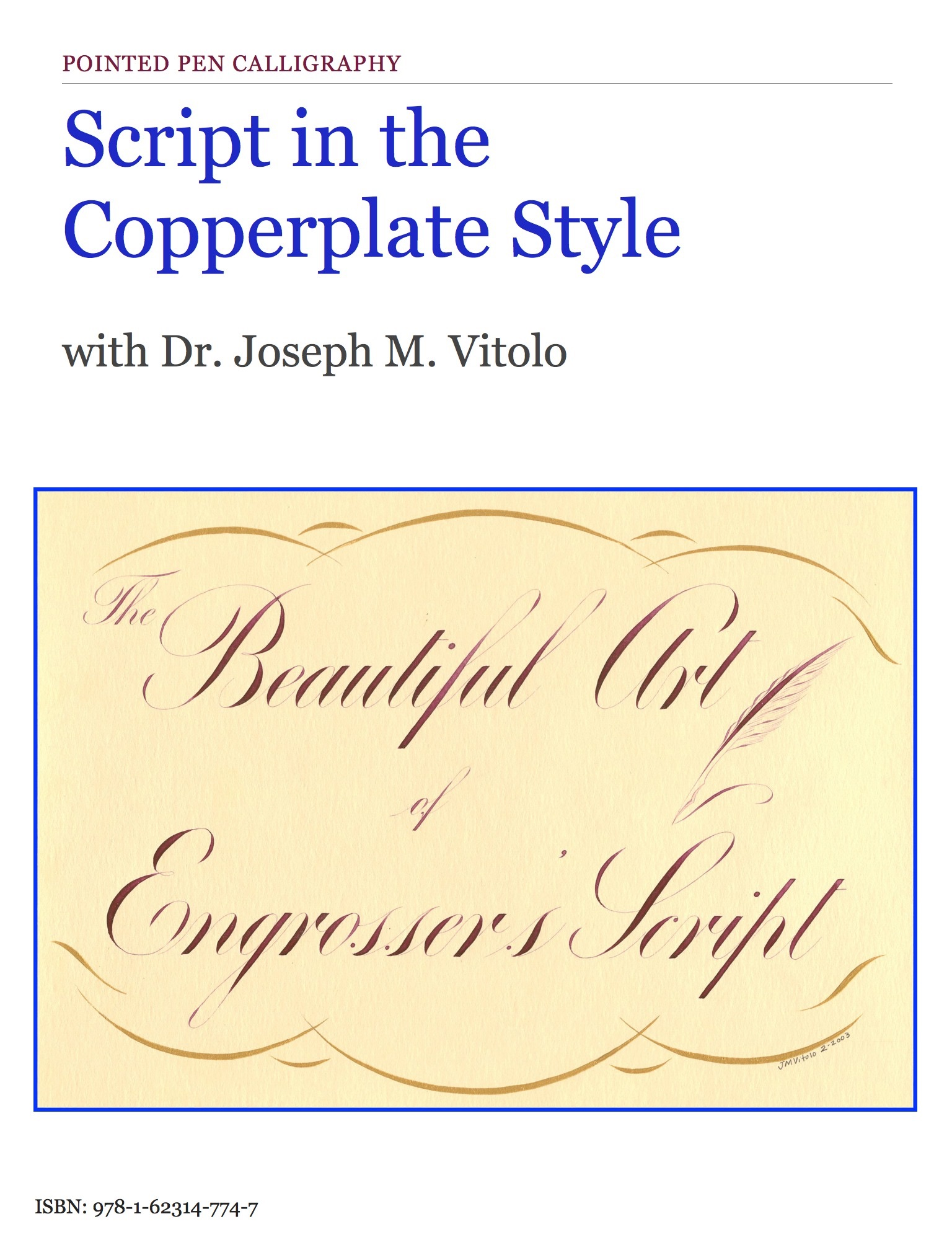 Script in the Copperplate Style by Dr. Joseph M. Vitolo on iBooks