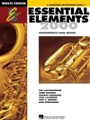 Essential Elements 2000 - Book 1 For E-flat Baritone Saxophone Textbook