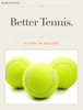 Peter Heywood - Better Tennis artwork