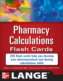 PHARMACY CALCULATIONS FLASH CARDS