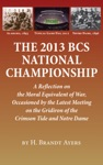 The 2013 BCS National Championship