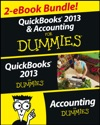 QuickBooks 2013  Accounting For Dummies EBook Set