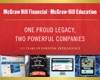 One Proud Legacy Two Powerful Companies