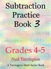 Subtraction Practice Book 3 Grades 4-5