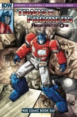 Simon Furman & Andrew Wildman - Transformers: Regeneration One #80.5  artwork
