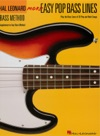 More Easy Pop Bass Lines Music Instruction