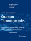 Quantum Thermodynamics