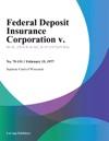 Federal Deposit Insurance Corporation V