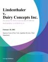 Lindenthaler V Dairy Concepts Inc