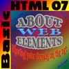 About Web Elements 07