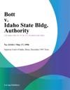 Bott V Idaho State Bldg Authority