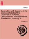 Description With Diagram Of The Sections Of Strata Of The Coalfields Of Yorkshire Derbyshire And Nottinghamshire Planned And Drawn By J I