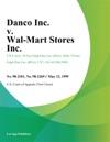 Danco Inc V Wal-Mart Stores Inc