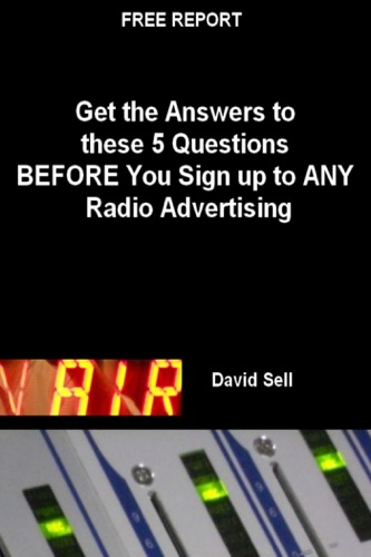 Moreyo de premium ebooks free ebooks free report get the answers to these 5 questions before you sign up to any radio advertising fandeluxe Image collections