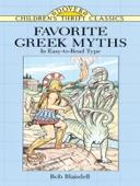 Favorite Greek Myths - Bob Blaisdell Cover Art
