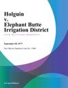 Holguin V Elephant Butte Irrigation District