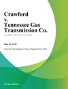 Crawford V Tennessee Gas Transmission Co