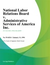 National Labor Relations Board V Administrative Services Of America Inc