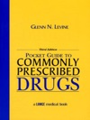 Pocket Guide To Commonly Prescribed Drugs Third Edition