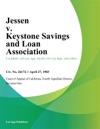 Jessen V Keystone Savings And Loan Association