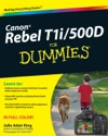 Canon EOS Rebel T1i  500D For Dummies