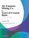 Mt Emmons Mining Co V Town Of Crested Butte