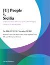 U People V Sicilia