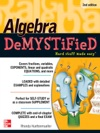 Algebra DeMYSTiFieD Second Edition