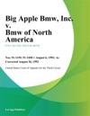 Big Apple Bmw Inc V Bmw Of North America