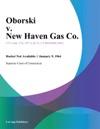 Oborski V New Haven Gas Co