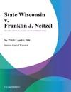 State Wisconsin V Franklin J Neitzel