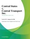 Central States V Central Transport Inc