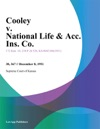 Cooley V National Life  Acc Ins Co