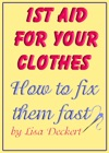 1st Aid For Your Clothes