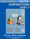 Subtraction Level 3 Pictures Words  Review