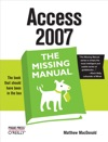Access 2007 The Missing Manual