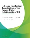 In Re Involuntary Termination Of The Parent-Child Relationship Of IB