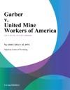 Garber V United Mine Workers Of America