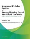 Vanguard Cellular System V Zoning Hearing Board Smithfield Township