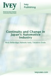 Continuity And Change In Japans Automotive Industry