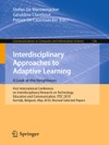 Interdisciplinary Approaches To Adaptive Learning A Look At The Neighbours