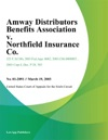 Amway Distributors Benefits Association V Northfield Insurance Co