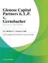 Glencoe Capital Partners II LP V Gernsbacher