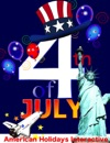 My Fourth Of July Animated Coloring Book