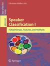 Speaker Classification I