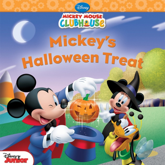 Mickey Mouse Clubhouse: Mickey's Halloween Treat by Disney ...