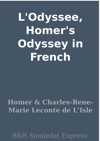 LOdyssee Homers Odyssey In French