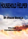 Household Helper Vol 1 Household List